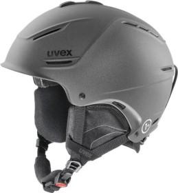 UVEX P1us Helm gun met mat (566153-550)