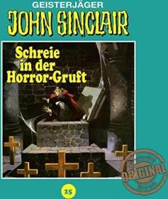 John Sinclair Tonstudio Braun - Folge 25 - Schreie in der Horror-Gruft