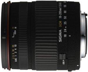 Sigma AF 18-200mm 3.5-6.3 DC Asp IF for Pentax K black (777945)