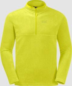 Jack Wolfskin Arco Shirt langarm flashing green stripes (Herren) (1701483-8105)