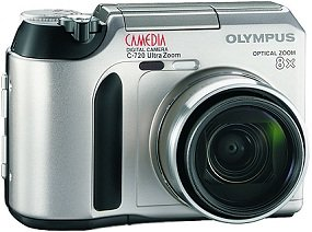 Olympus Camedia C-720 Ultra zoom with Photo Printers P-200 (N1224892)