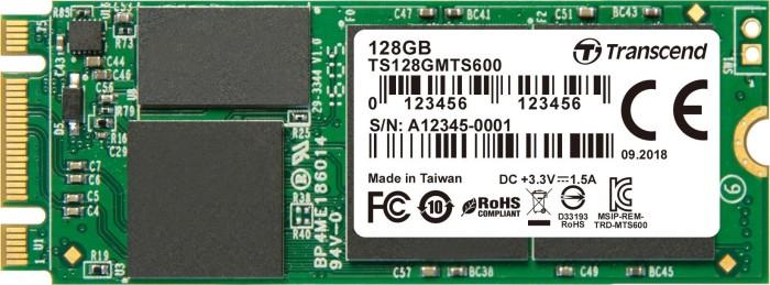 Transcend M.2 SSD 600 128GB, M.2 (TS128GMTS600)