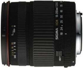 Sigma AF 18-200mm 3.5-6.3 DC Asp IF für Nikon F schwarz (777944/77D955)
