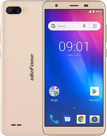 Ulefone S1 Pro gold