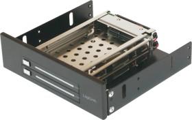 "LogiLink hard drive caddy 5.25"" for 2x 2.5"" HDD (MR0007)"