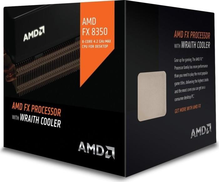 AMD FX-8350, 8x 4.00GHz, boxed mit AMD Wraith (FD8350FRHKHBX)