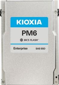 KIOXIA PM6-M Enterprise - 10DWPD Write intensive SSD 3.2TB, SED FIPS, SAS (KPM6WMUG3T20)