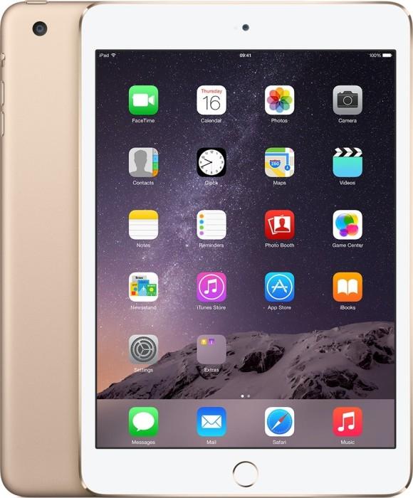 Apple iPad mini 3 64GB, gold, LTE (MGYN2FD/A)