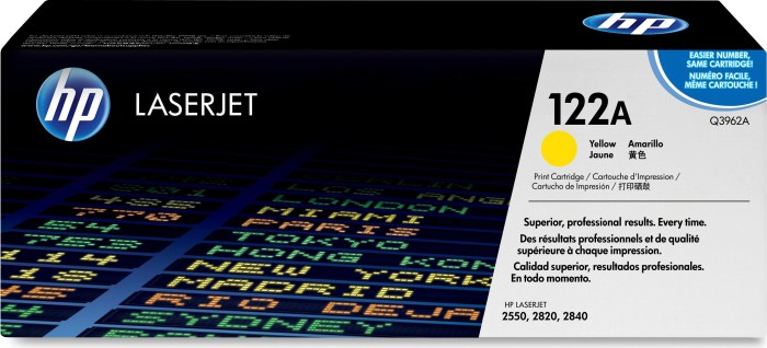 HP Toner 122A yellow (Q3962A)