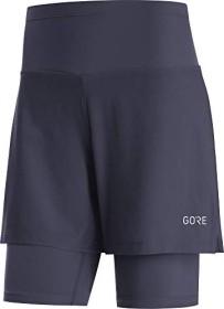Gore Wear R5 2in1 Laufhose kurz orbit blue (Damen) (100623-AU00)
