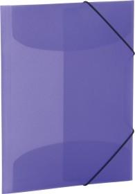Herma Sammelmappe A4 transparent violett (19581)