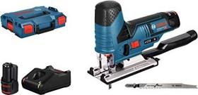 Bosch Professional GST 12V-70 Akku-Pendelhubstichsäge inkl. L-Boxx + 2 Akkus 3.0Ah (06015A1005)