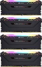 Corsair Vengeance RGB PRO black DIMM kit 64GB, DDR4-2666, CL16-18-18-35 (CMW64GX4M4A2666C16)