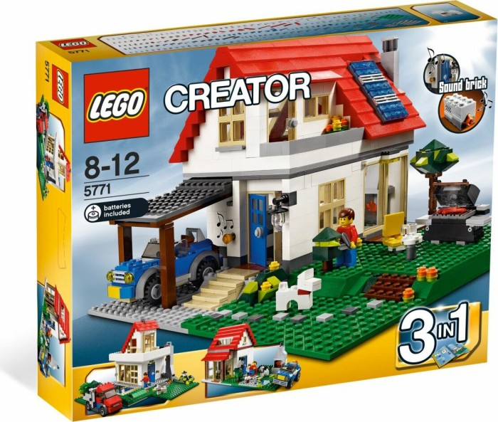 LEGO - Creator 3in1 - Hillside House (5771) -- via Amazon Partnerprogramm