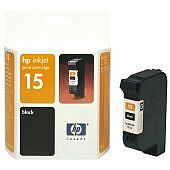HP Printhead with ink Nr 15 black 15ml (old)