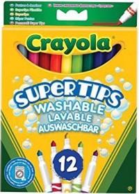 Goliath Crayola Supertips felt-tip pens sorted, 12 pcs set (7509)