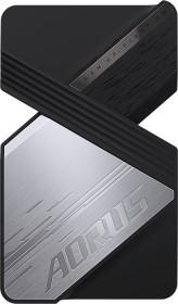 GIGABYTE AORUS GeForce RTX NVLink-Bridge for 30 Series, 4-Slot, 80mm (GC-ANVLINK)
