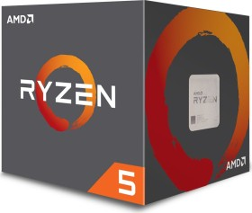 AMD Ryzen 5 1600 (12nm), 6C/12T, 3.20-3.60GHz, boxed (YD1600BBAFBOX)
