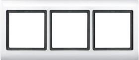 Merten Aquadesign Rahmen 3fach, polarweiß (400319)