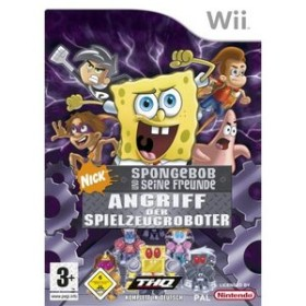 SpongeBob und seine Freunde: Angriff der Spielzeugroboter (Wii)