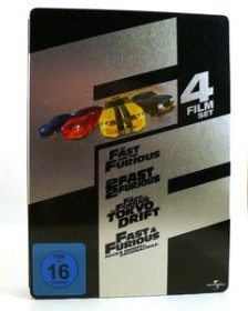 The Fast And The Furious Box (Filme 1-4) (DVD)