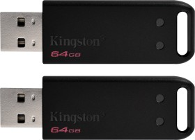 Kingston DataTraveler 20 64GB, USB-A 2.0, 2er-Pack (DT20/64GB-2P)