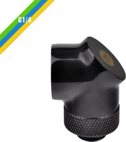 "Thermaltake Pacific 90° Adapter G1/4"", schwarz (CL-W052-CU00BL-A)"