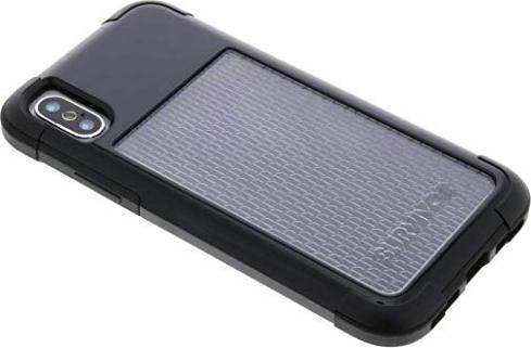 info for 11f18 f3549 Griffin Survivor Fit for Apple iPhone X black (TA43858)