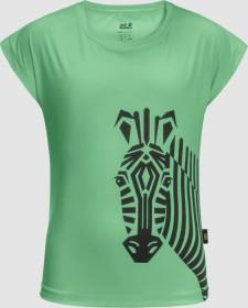 Jack Wolfskin Zebra Shirt kurzarm spring green (Junior) (1608351-4154)
