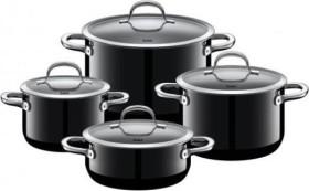 WMF Silit Passion Kochtopf-Set Black, 4-tlg. (21.0929.7178)