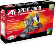 ATI XPERT 2000, Rage 128, 32MB, TV-Out, AGP, bulk