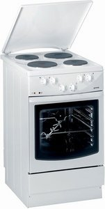 Gorenje E274W electric cooker with electric hob
