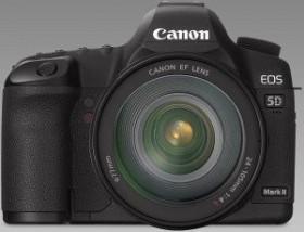 Canon EOS 5D Mark II schwarz mit Objektiv EF 70-300mm 4.0-5.6 L IS USM (2764B072)