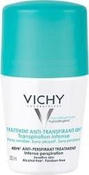 Vichy 48h Antitranspirant Roll-On Deodorant, 50ml