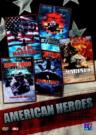 American Heroes Box (Air Marshal/Air Strike/Special Forces USA/...) -- via Amazon Partnerprogramm