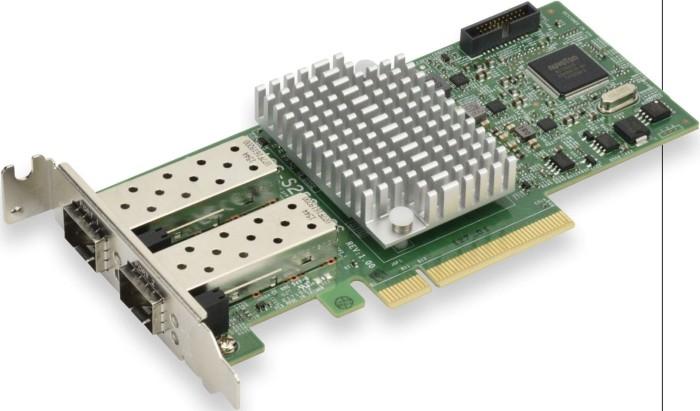 Supermicro AOC-S25G-m2S, 2x SFP28, PCIe 3.0 x8