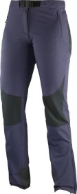 Salomon Wayfarer Mountain pant long grey/purple (ladies) (379768)