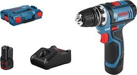 Bosch Professional GSR 12V-15 FC FlexiClick Akku-Bohrschrauber inkl. L-Boxx + 2 Akkus 2.0Ah + Zubehör (06019F6000)