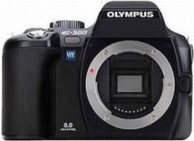Olympus E-500 schwarz mit Objektiv 18-180mm 3.5-6-3 (E0413097)