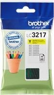 Brother Tinte LC3217Y gelb