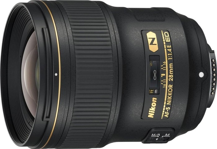 Nikon AF-S 28mm 1.4E ED black (JAA140DA)