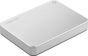 Toshiba Canvio Premium für Mac silber 3TB, USB 3.0 Micro-B (HDTW130ECMCA)