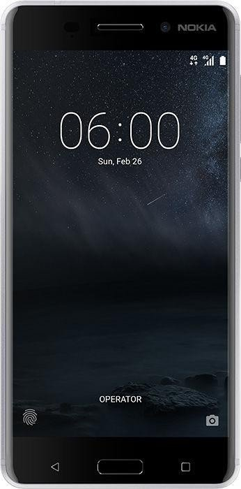 Nokia 6 Dual-SIM silber
