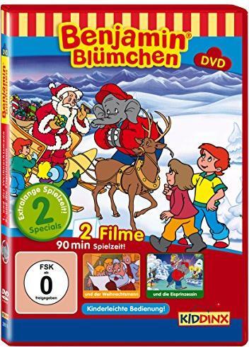 Benjamin Blümchen - Die Eisprinzessin, Der Weihnachtsmann -- via Amazon Partnerprogramm