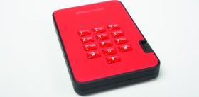 """iStorage diskAshur 2 SSD rot 512GB, 2.5"""", USB-A 3.0 (IS-DA2-256-SSD-512-R)"""