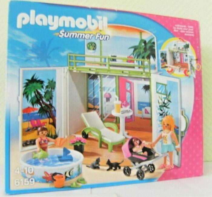 playmobil - Summer Fun - Aufklapp-Spiel-Box Sonnenterrasse (6159) -- via Amazon Partnerprogramm