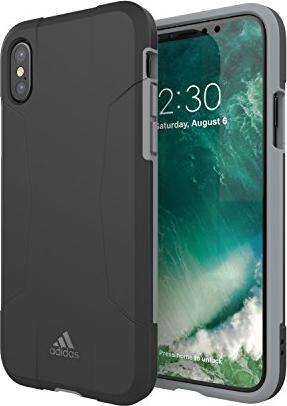 adidas Hard Case für Apple iPhone X schwarz/grau (29601) -- via Amazon Partnerprogramm