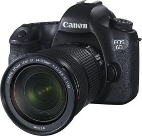 Canon EOS 6D schwarz mit Objektiv EF 24-105mm 3.5-5.6 IS STM (8035B127)