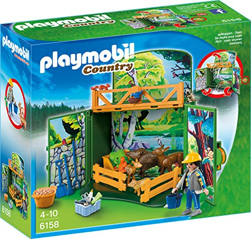 playmobil - Country - Aufklapp-Spiel-Box Waldtierfütterung (6158) -- via Amazon Partnerprogramm