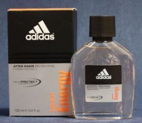 adidas Deep Energy Aftershave Lotion, 100ml